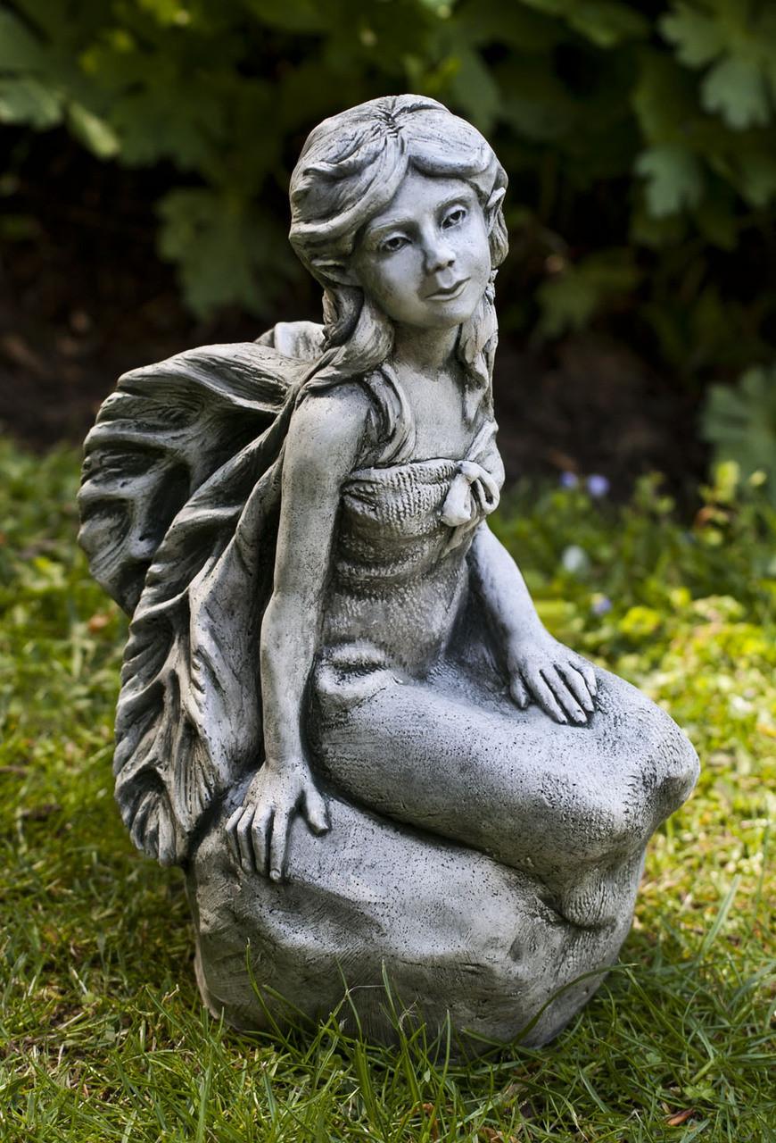 Aster campania cast stone garden art