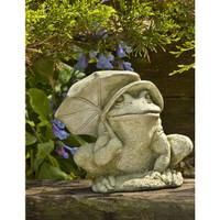 Campania Stone bumbershoot frog