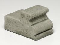 Campania Narrow Classic Riser, Cast Stone Pot Riser