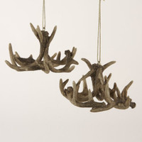 Kurt S Adler Resin Antler Ornament