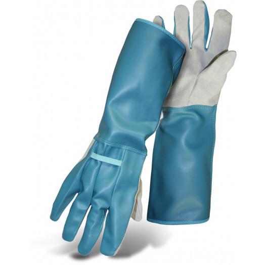Boss Thorngard+ Garden And Rose Gloves In Blue