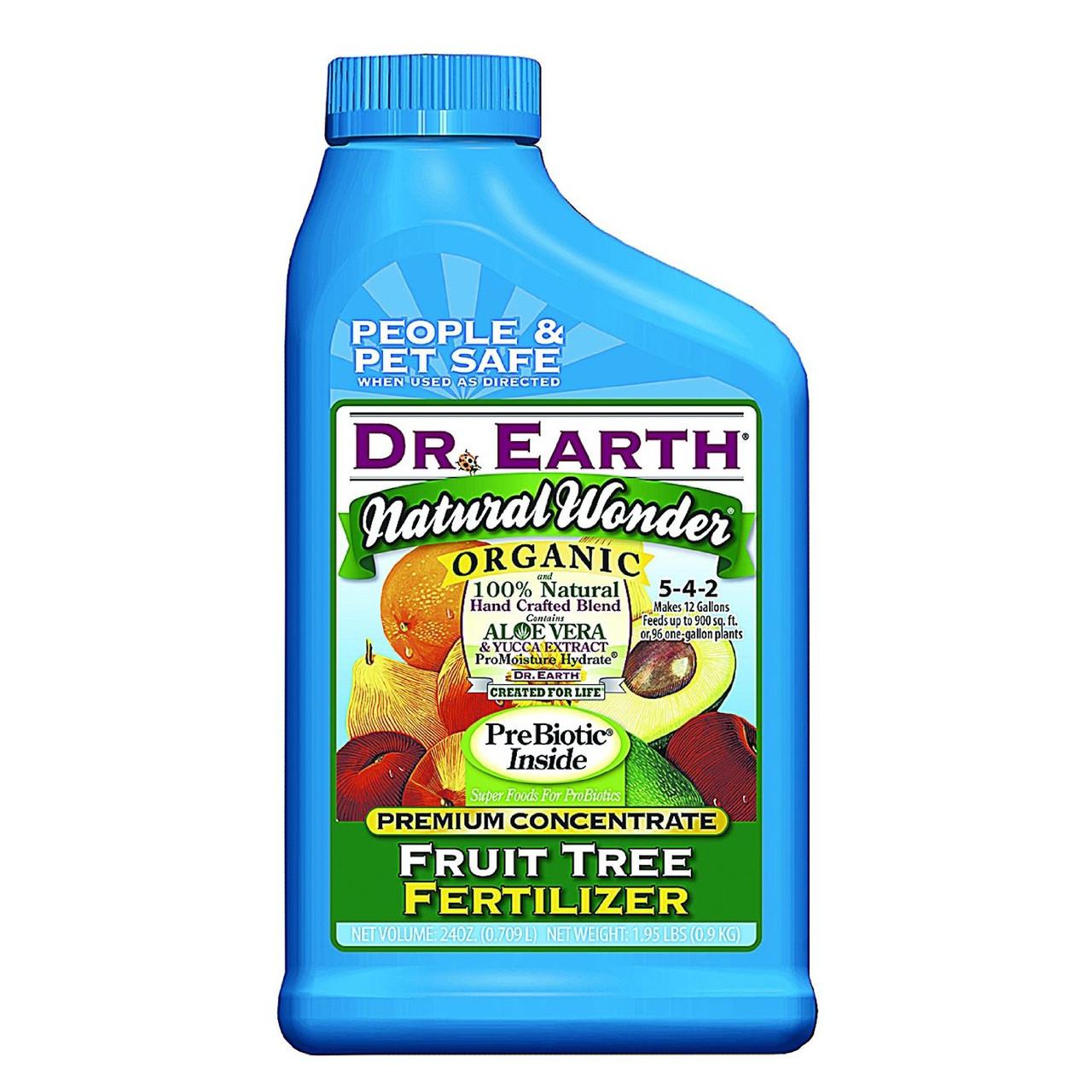 Dr earth natural wonder organic fruit tree fertilizer 24 oz - Organic flower fertilizer homemade solutions ...