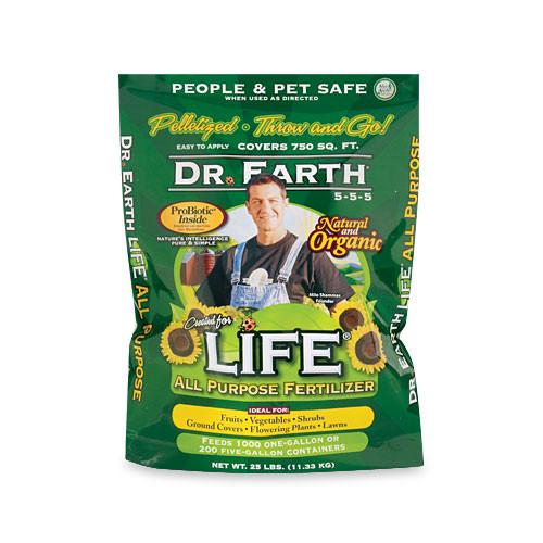 Dr. Earth Life All Purpose Fertilizer   4 LBs