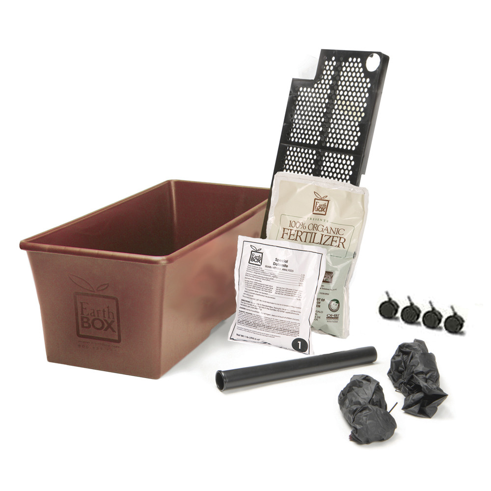 Earthbox Organic Growing Kit Terra Cotta