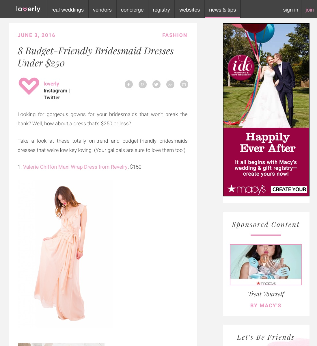 loverlyBridesmaidDresses