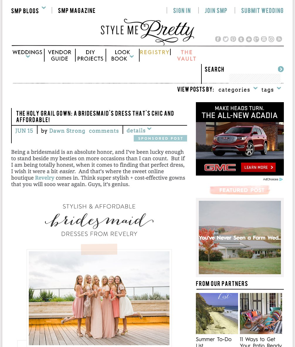 stylemeprettyBridesmaidDressesArticle