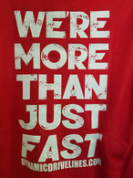 We're More Than Just Fast Tee