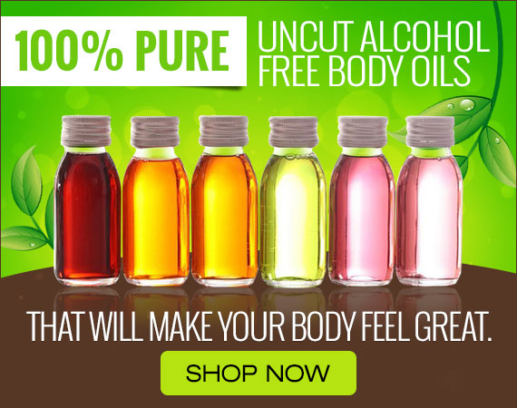 Hairobics Pure Uncut Body Oils