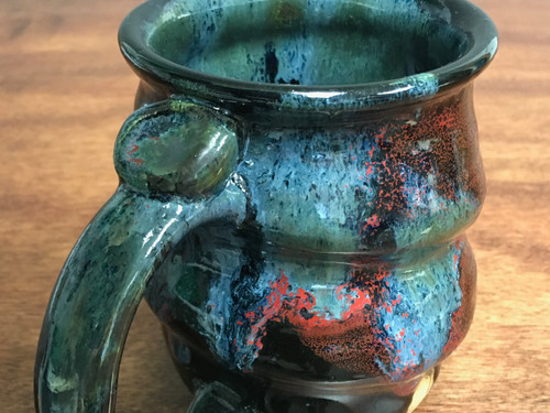 Cosmic Mug, roughly 15oz size, Inspired by a Star-Formation Nebula (SK518)