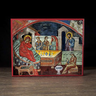 Nativity of the Theotokos (Athos) Icon - F257