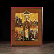 Saints Cyricus and Julitta (XIXc) Icon - S365
