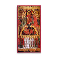 Harrowing of Hades (With Saints) Icon - F141
