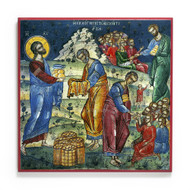 Feeding of the 5000 (Athos) Cathedral Icon - F231