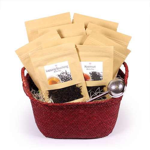 Tea Gift Basket - Legacy Icons