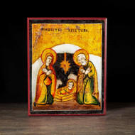 Nativity of Christ (XVIIIc) Icon - F162