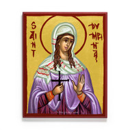 Saint Dymphna of Gheel Icon - S439