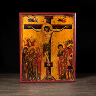 Crucifixion of Christ Icon - F190