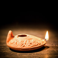 Clay Oil Lamp