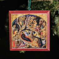 Nativity of Christ (XVc) Tree Ornament - F159