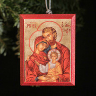 Holy Family Tree Ornament - S135
