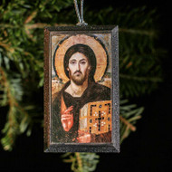 Christ Pantocrator (Sinai) Tree Ornament - X117