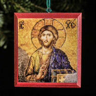 Christ Pantocrator (Hagia Sophia) Tree Ornament - X114