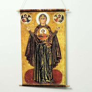 "Theotokos ""the Sign"" (XIIIc) Phosicon - T114"