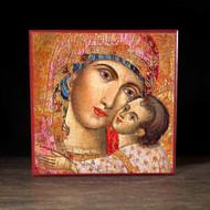 Heart of the Theotokos Icon - T100