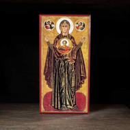 "Theotokos ""the Sign"" Icon - T114"