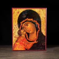 "Theotokos ""Tenderness"" (XVc) Icon - T126"