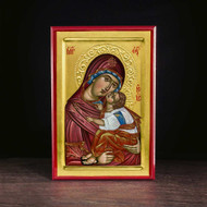 "Theotokos ""Tenderness"" (XXIc) Icon - T127"