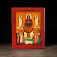 "Theotokos ""the Life-giving Spring"" (XIXc) Icon - T136"