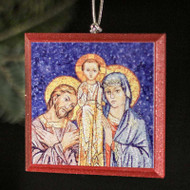 Holy Family (Church of the Nativity) Tree Ornament - S134