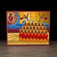 21 New Martyrs of Libya Icon - S100