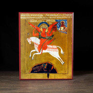 "Archangel Michael ""the Commander of Formidable Forces"" Icon - S118"