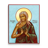 Saint Mary of Egypt (Koufos) Icon - S176