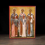 Three Holy Hierarchs (XVc) Icon - S217