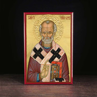 Saint Nicholas of Myra Icon - S220