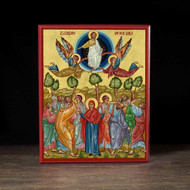 Ascension of Christ (XXIc) Icon - F202