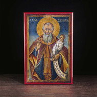 Saint Stylianos of Paphlagonia Icon - S239
