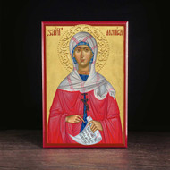 Saint Monica, Mother of Augustine Icon - S257