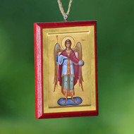 Christ / Archangel Michael Car Mirror Icon