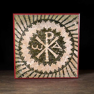 LIMITED TIME - Chi Rho Catacomb Mosaic - 5x5
