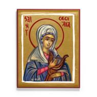 Saint Cecilia Icon - S266