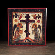 Adoration of the Cross Icon - F100