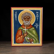 Saint Moses the Ethiopian Icon - S272