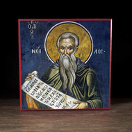 Saint Nilus of Sinai (Athos) Icon - S291