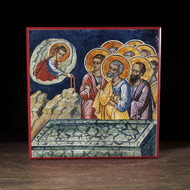 Presentation of the Belt of the Theotokos (Athos) Icon - F228