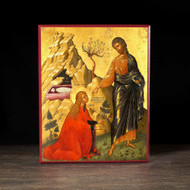 Christ Greeting Mary Magdalene Icon - F113