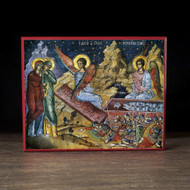 The Myrrh-bearers at the Tomb (Athos) Icon - F234